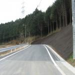 恵那市道路改良工事B