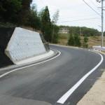 恵那市道路改良工事A-2