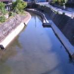 県単河川局部改良     完成