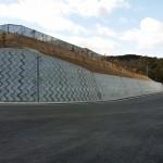 三郷町86号線道路改良工事