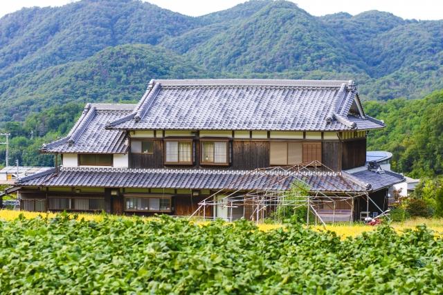 田舎の日本家屋